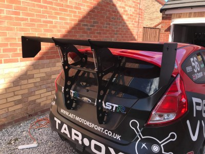 Ford Fiesta mk7 BYC wing mount kit (TALL)